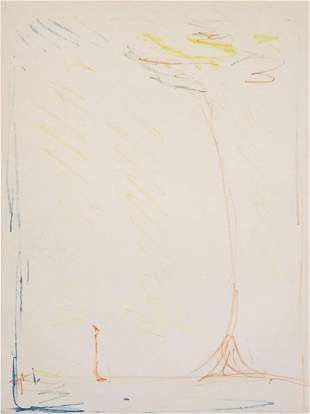 Alberto Giacometti - L'Arbre