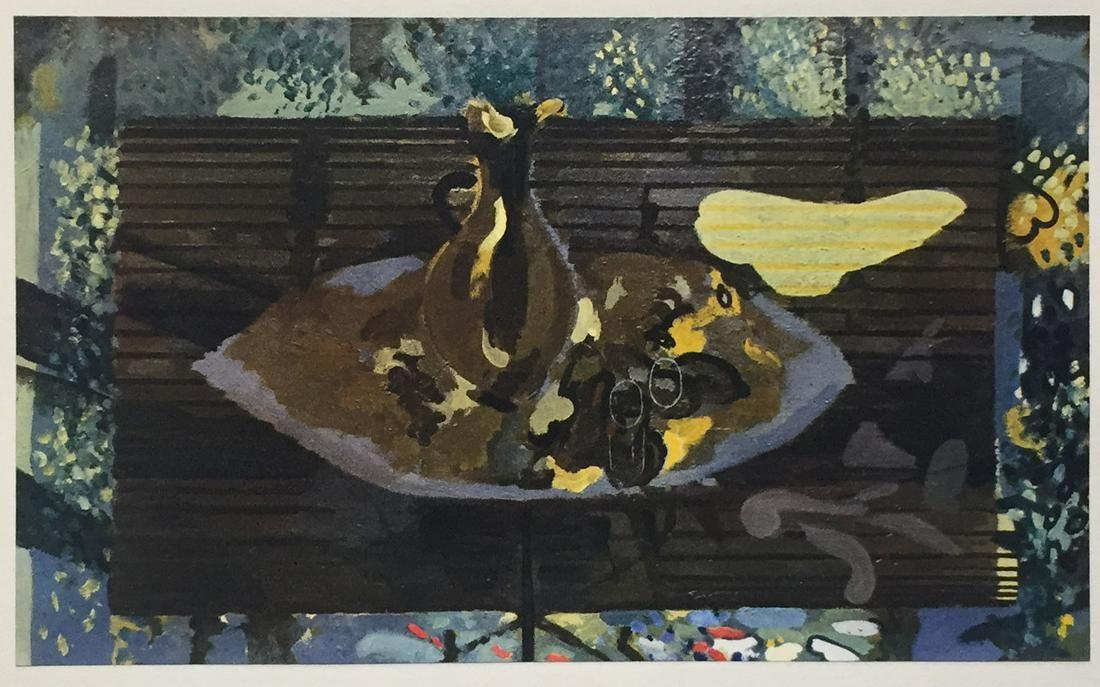 Georges Braque - Le Banc