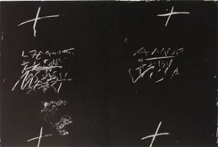 Antoni Tapies (After) - Monotype V
