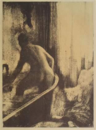 Edgar Degas (After) - Femme Dans la Baignoire