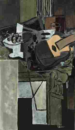 Georges Braque (After) - La Cheminee