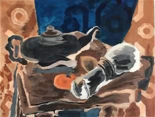 Georges Braque (After) - Nature Morte a la Serviette