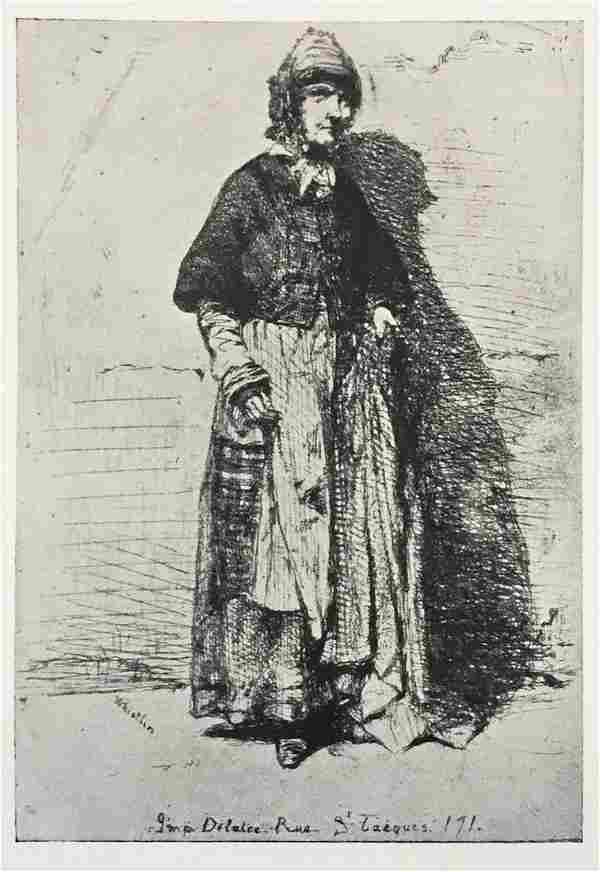 James McNeill Whistler (After) - La Mere Gerard