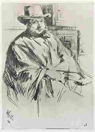 James McNeill Whistler (After) - Henry Newnham Davis