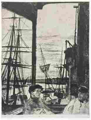 James McNeill Whistler (After) - Rotherhithe (Wapping)