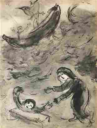 Marc Chagall (After) - Landolfe ou la Fortune Imprevue
