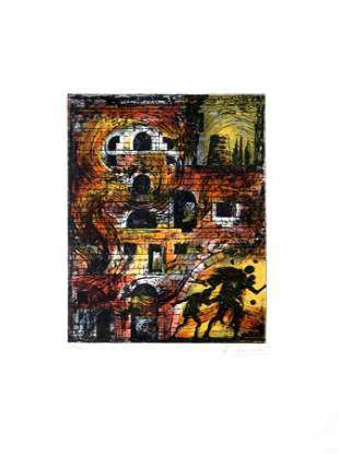 Eugene Berman - Untitled