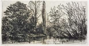 Philip Gilbert Hamerton - Near Voudenay