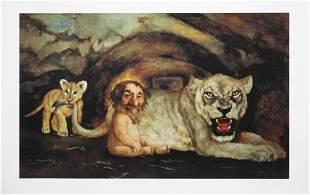 Charles Bragg - Daniel in the Lions Den
