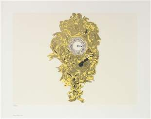 Donald Sultan - French Wall Clock
