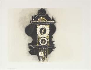 Donald Sultan - Dutch Zaanse Bracket Clock