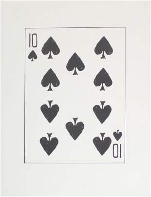 William Wegman - Ten of Spades