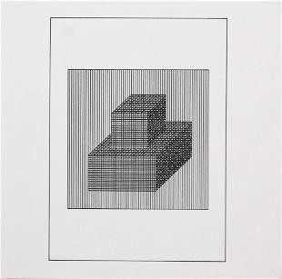 """Sol Lewitt - Untitled II from """"Ficciones: Jorge Luis"""