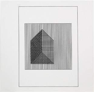 """Sol Lewitt - Untitled VI from """"Ficciones: Jorge Luis"""