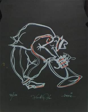 Unknown Artist - Untitled (Trumpet Player)