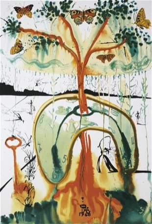 Salvador Dali (After) - A Mad Tea Party
