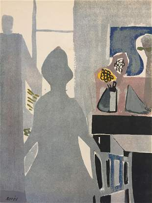 Francisco Bores - La Femme En Bleu