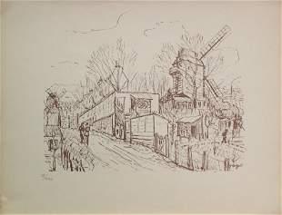 Alphonse Quizet (After) - Le Moulin de la Galette