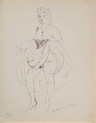 Louis Berthomme Saint Andre (After) - Danseuse de