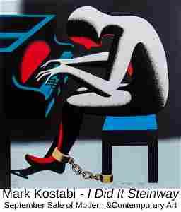 Mark Kostabi - I Did It Steinway