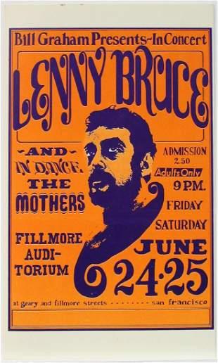 Bill Graham Presents - Lenny Bruce