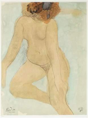 Auguste Rodin - Aquarelle IV
