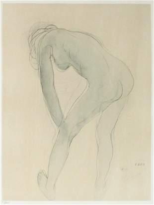 Auguste Rodin - Aquarelle X