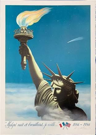 Hugh de Saint-Morland - Statue of Liberty