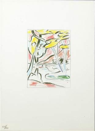 Roy Lichtenstein - River Through the Woods