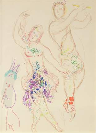 Marc Chagall (After) - Daphnis and Chloe