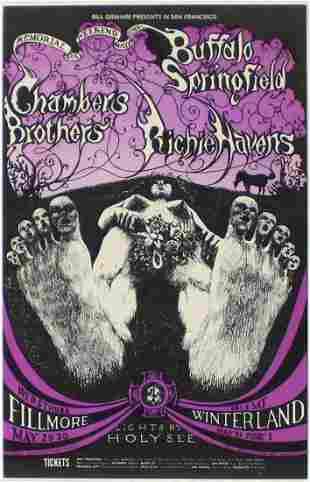 Lee Conklin - Buffalo Springfield Chambers Brothers