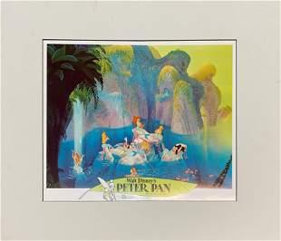 Disney - Peter Pan Serigraph Cel