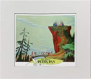 Disney - Peter Pan Serigraph Cel II