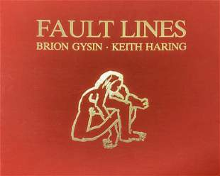 Keith Haring and Brion Gysin - Fault Lines Portfolio