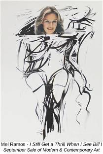 Mel Ramos - I Still Get a Thrill When I See Bill I