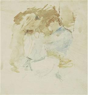 Berthe Morisot - La Couture au Jardin