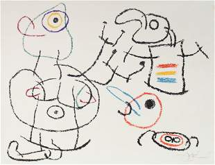 Joan Miro - Untitled III from Ubu Aux Baleares
