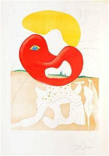 Salvador Dali - The Blood of the Yin and Yang