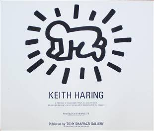 Keith Haring - Cover Sheet from Fertility Suite