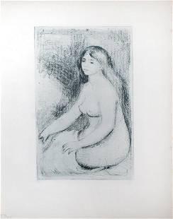 Pierre-Auguste Renoir - Etude