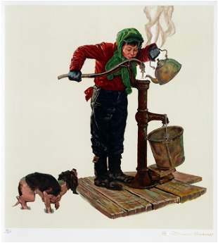 Norman Rockwell - Winter Morning