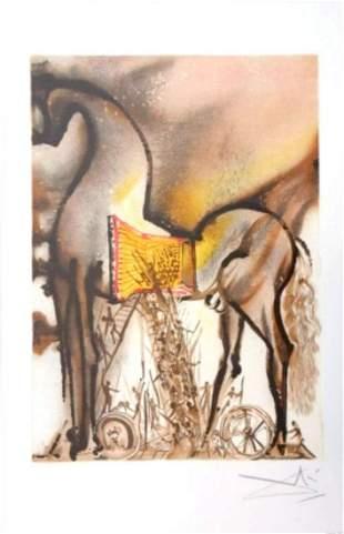 Salvador Dali - Le Cheval de Troie