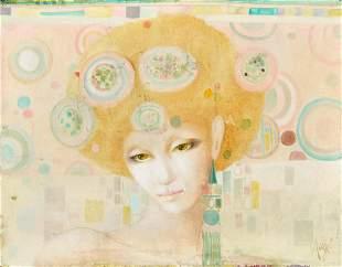 Auge - Untitled (Portrait of Woman)