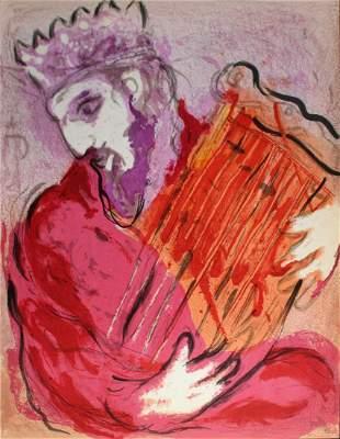 Marc Chagall - David and His Harp