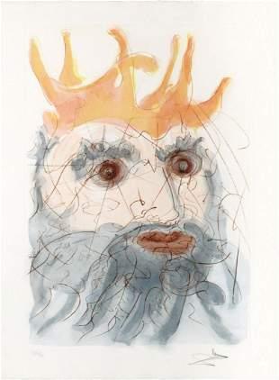 Salvador Dali - King Saul