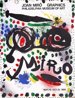 Joan Miro - Graphics: Philadelphia Museum of Art Poster