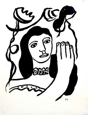 Fernand Leger - Untitled (Woman)