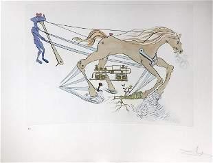 Salvador Dali - Hydraulic brake