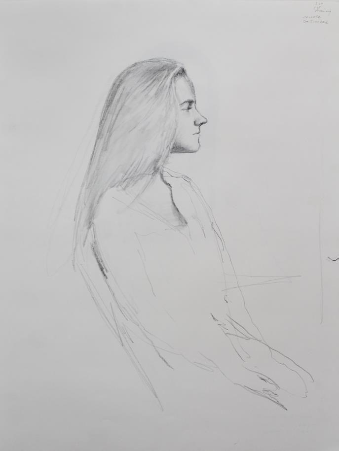 Bo Bartlett - Untitled Figure Study XV