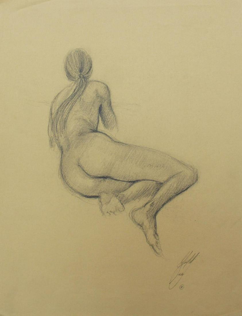 Bo Bartlett - Untitled Figure Study XI